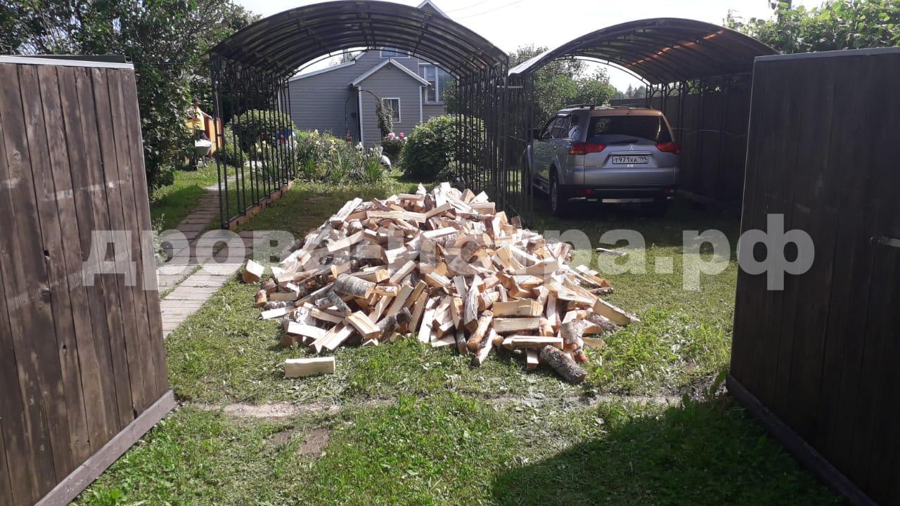 3 м³ берёзовых дров в д. Львово, г.о. Истра