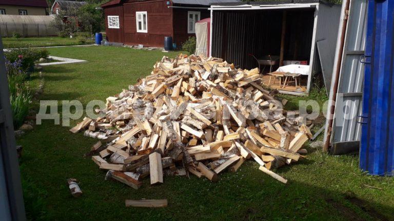 5 м³ берёзовых дров в СНТ Теплотехник,  Клинский р-н