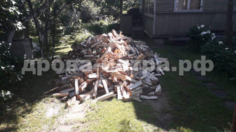 5 м³ берёзовых дров в д. Петровское, г.о. Истра