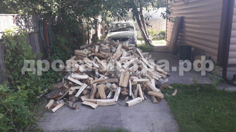 5 м³ берёзовых дров в д. Славково, г.о. Истра