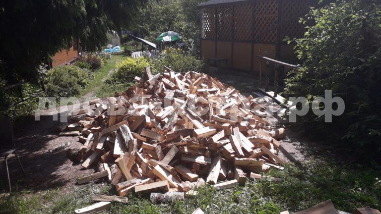 5 м³ берёзовых дров в р.п. Менделеево,  Солнечногорский р-н