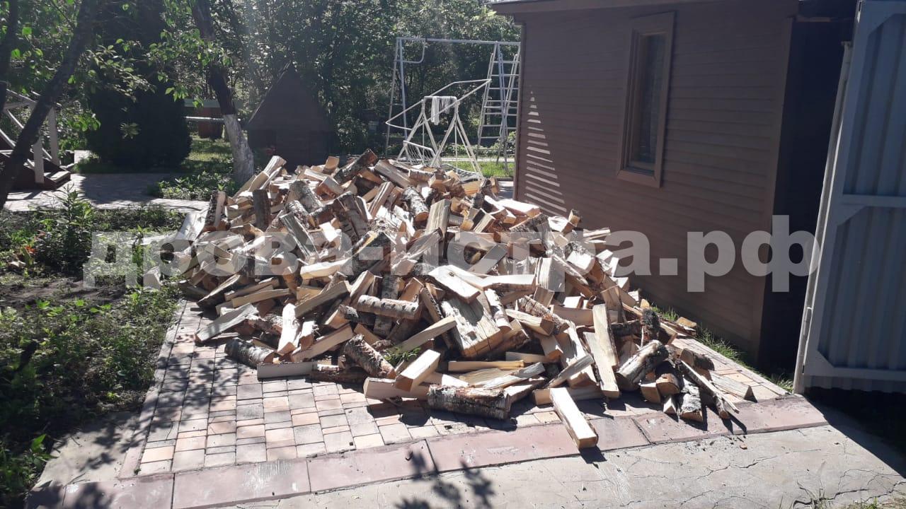 5 м³ берёзовых дров в СНТ Шахтёр, Истринский р-н
