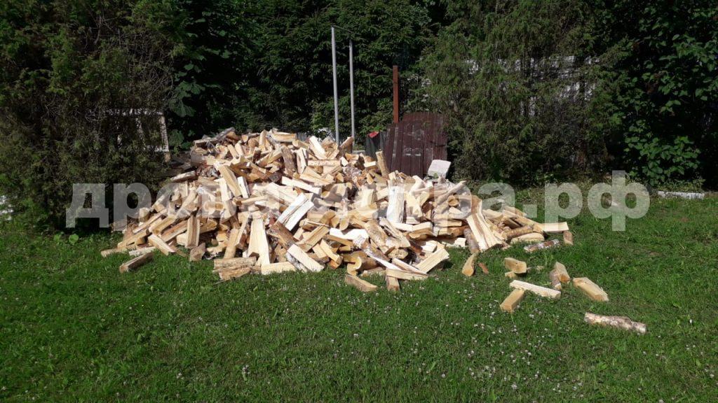 5 м³ берёзовых дров в д. Кострово, Истринский р-н