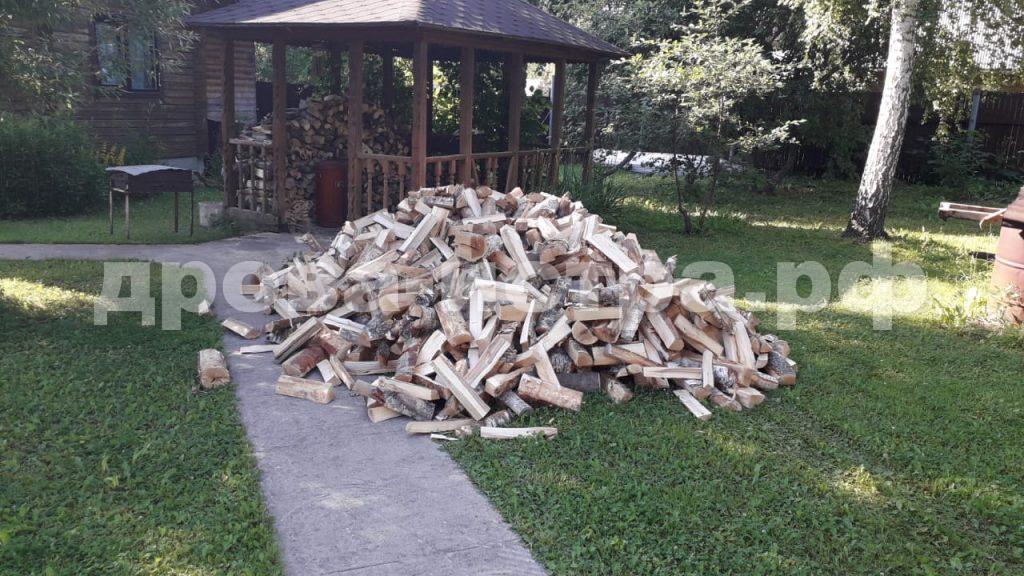 4 м³ берёзовых дров в СНТ Аникеевка,  Красногорский р-н