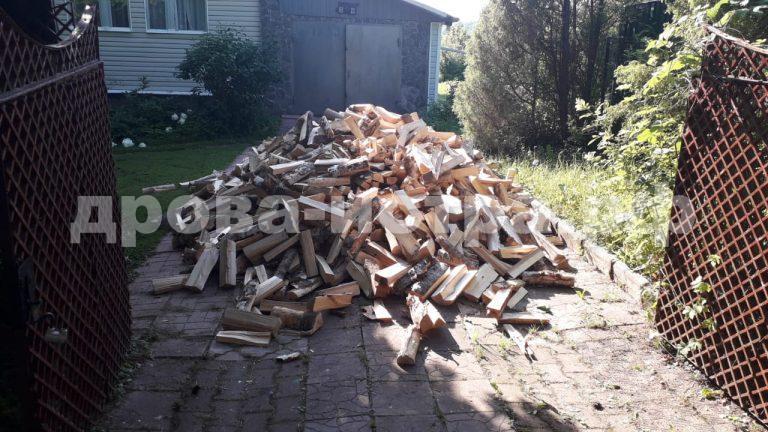 5 м³ берёзовых дров в д. Денежкино,  г.о. Истра