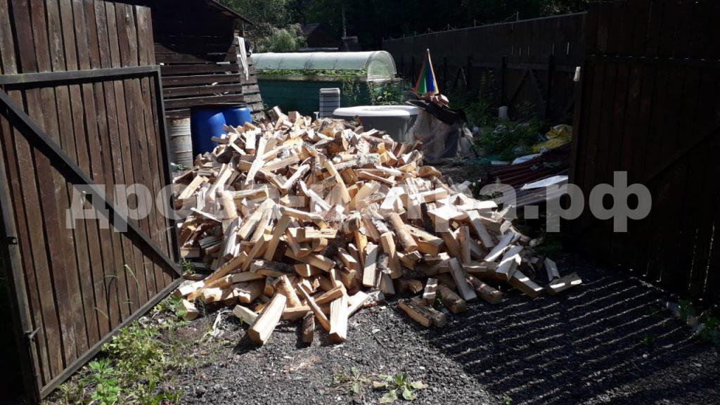 5 м³ берёзовых дров в д. Жилино,  Солнечногорский р-н