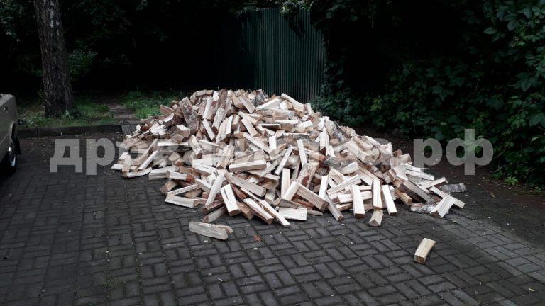 5 м³ берёзовых дров в д. Новинки,  г.о. Истра