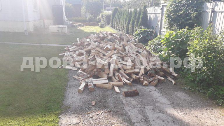 5 м³ берёзовых дров в СНТ Полесье,  Солнечногорский р-н