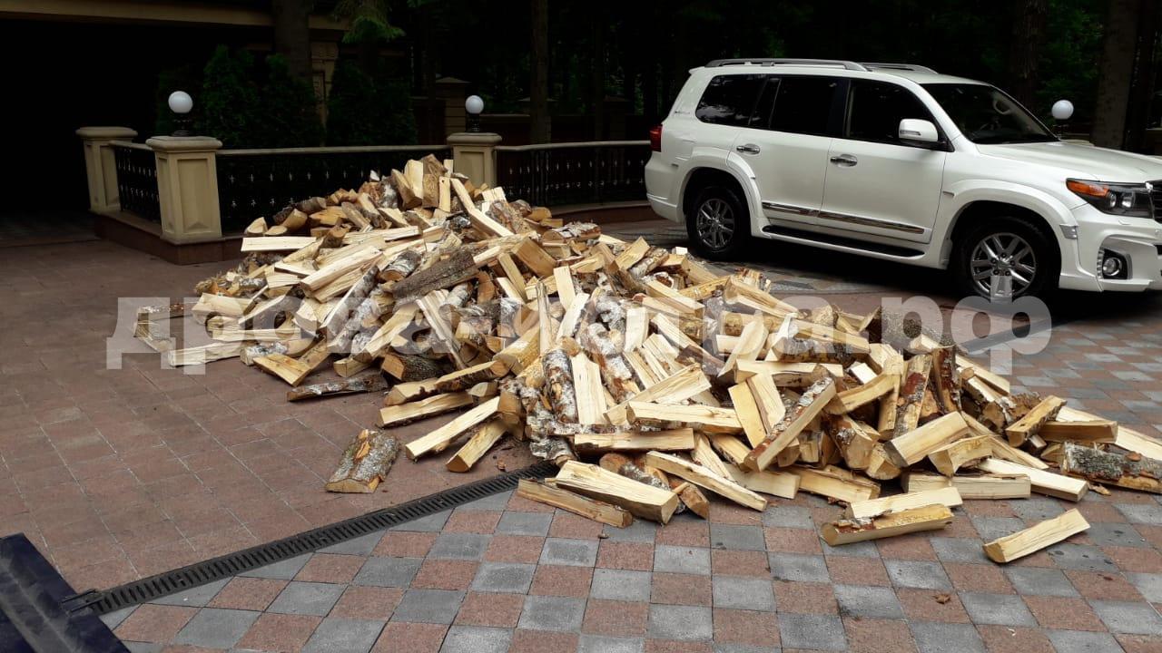 5 м³ берёзовых дров в СНТ Лесное, Истринский р-н