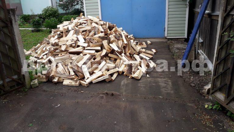 5 м³ берёзовых дров в д. Бужарово, г.о. Истра
