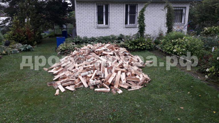 5 м³ берёзовых дров в СНТ Олень,  Волоколамский р-н