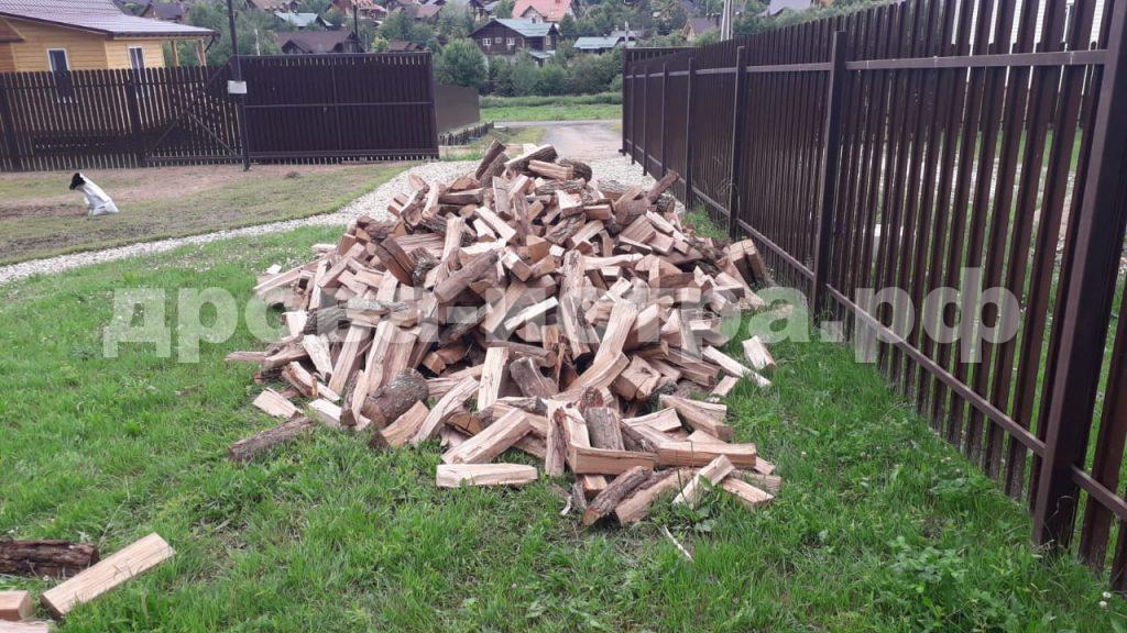5 м³ дубовых дров в дп. Лисички, г.о. Истра