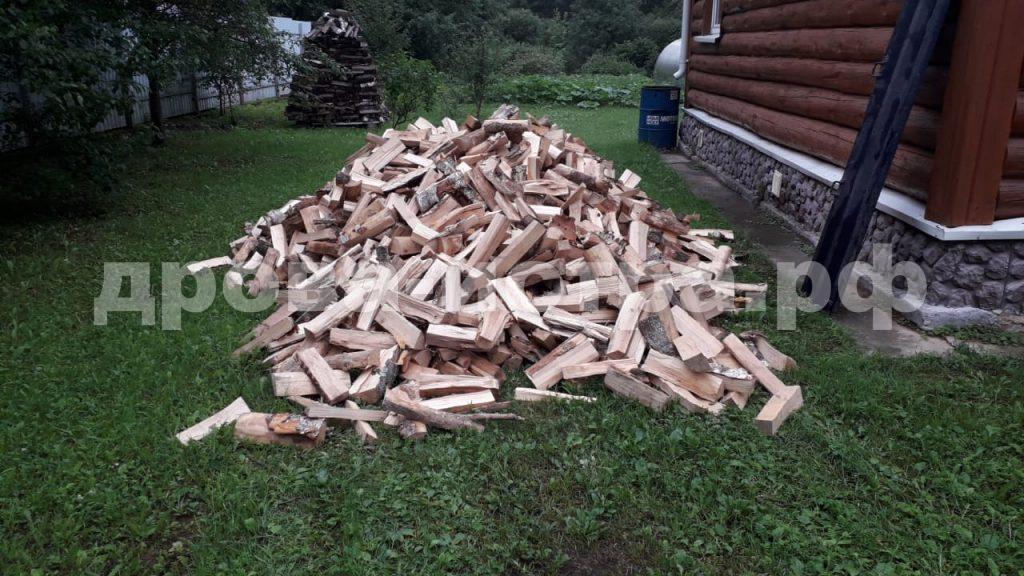 5 м³ берёзовых дров в д. Мансурово, г.о. Истра
