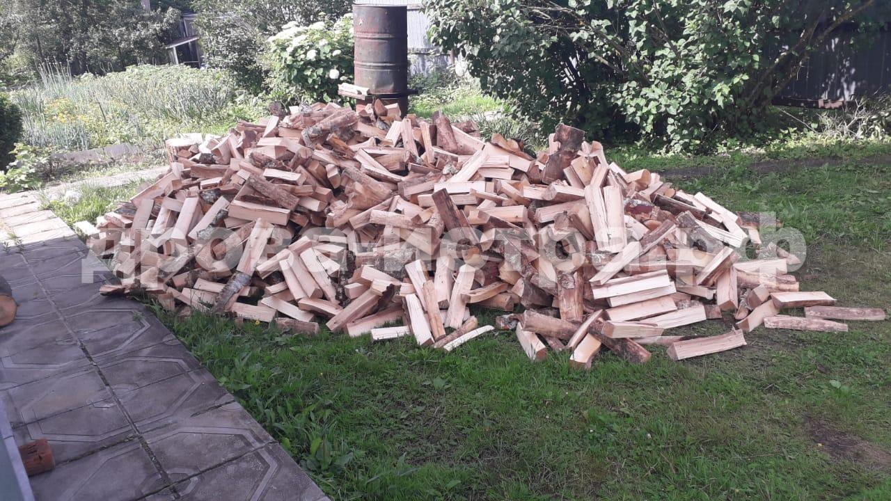 5 м³ берёзовых дров в д. Адуево, г.о. Истра