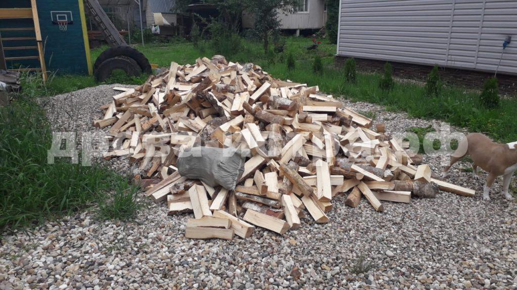 5 м³ берёзовых дров в д. Холмы, г.о. Истра