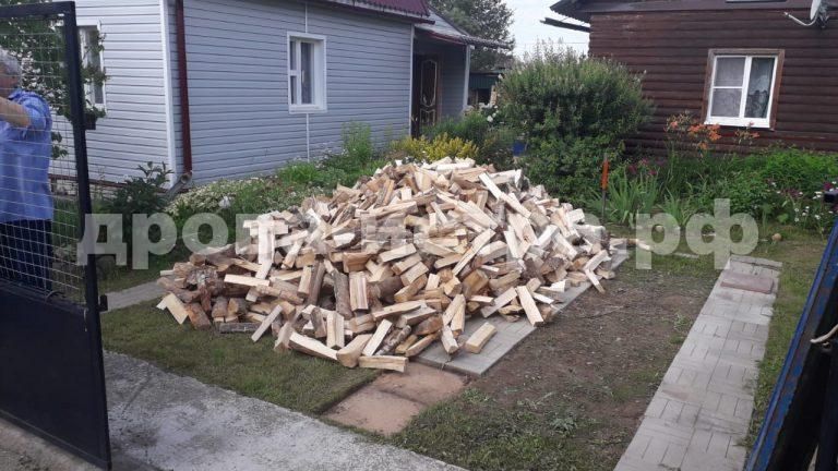 5 м³ берёзовых дров в д. Хованское, г.о. Истра