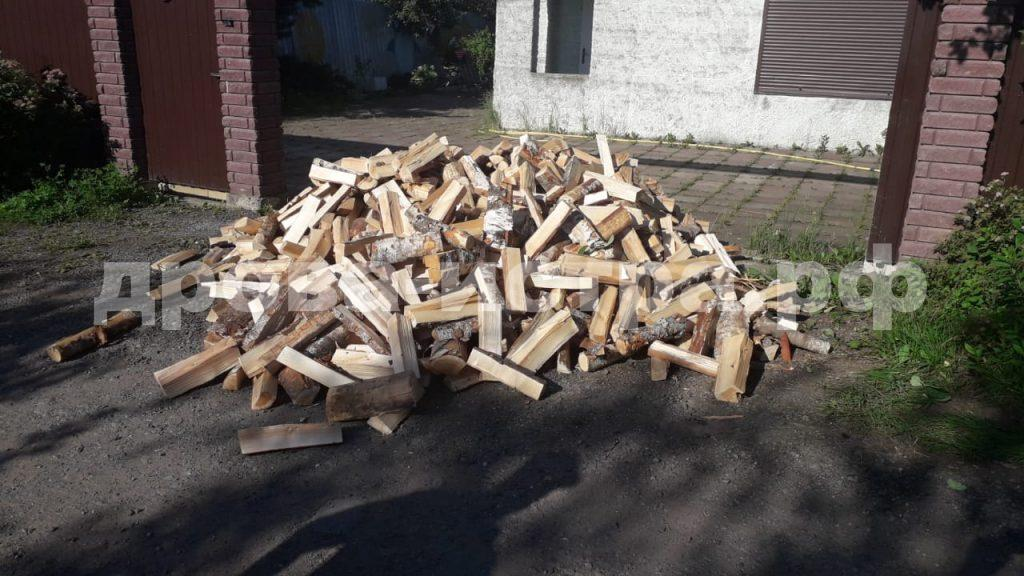 3 м³ берёзовых дров в д. Сафонтьево, г.о. Истра