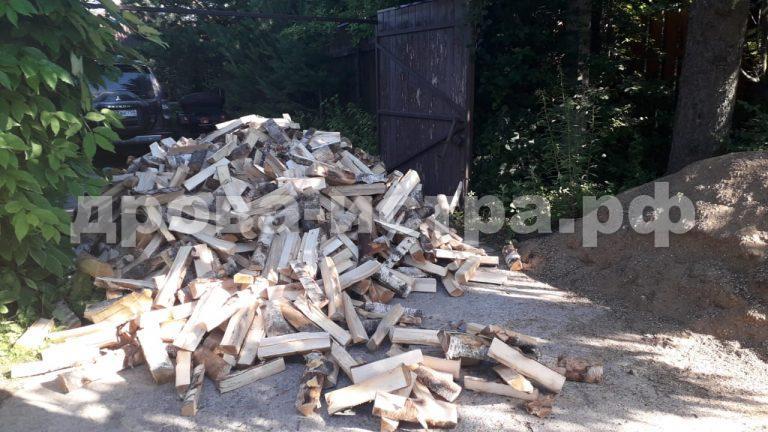 5 м³ берёзовых дров в д. Куртниково, г.о. Истра