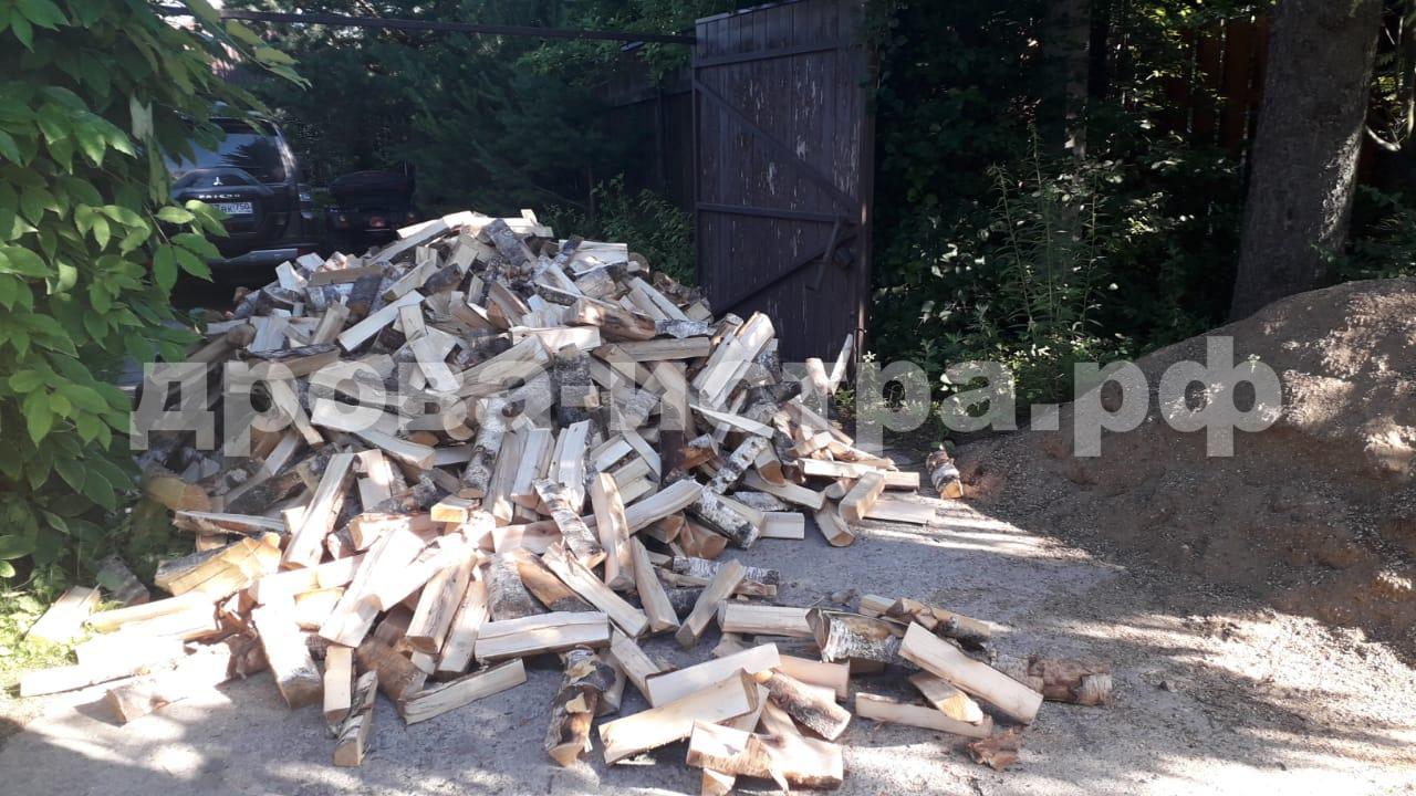 5 м³ дубовых дров в д. Куртниково, г.о. Истра