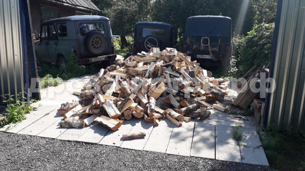 5 м³ берёзовых дров в СНТ Лучь, г.о. Истра