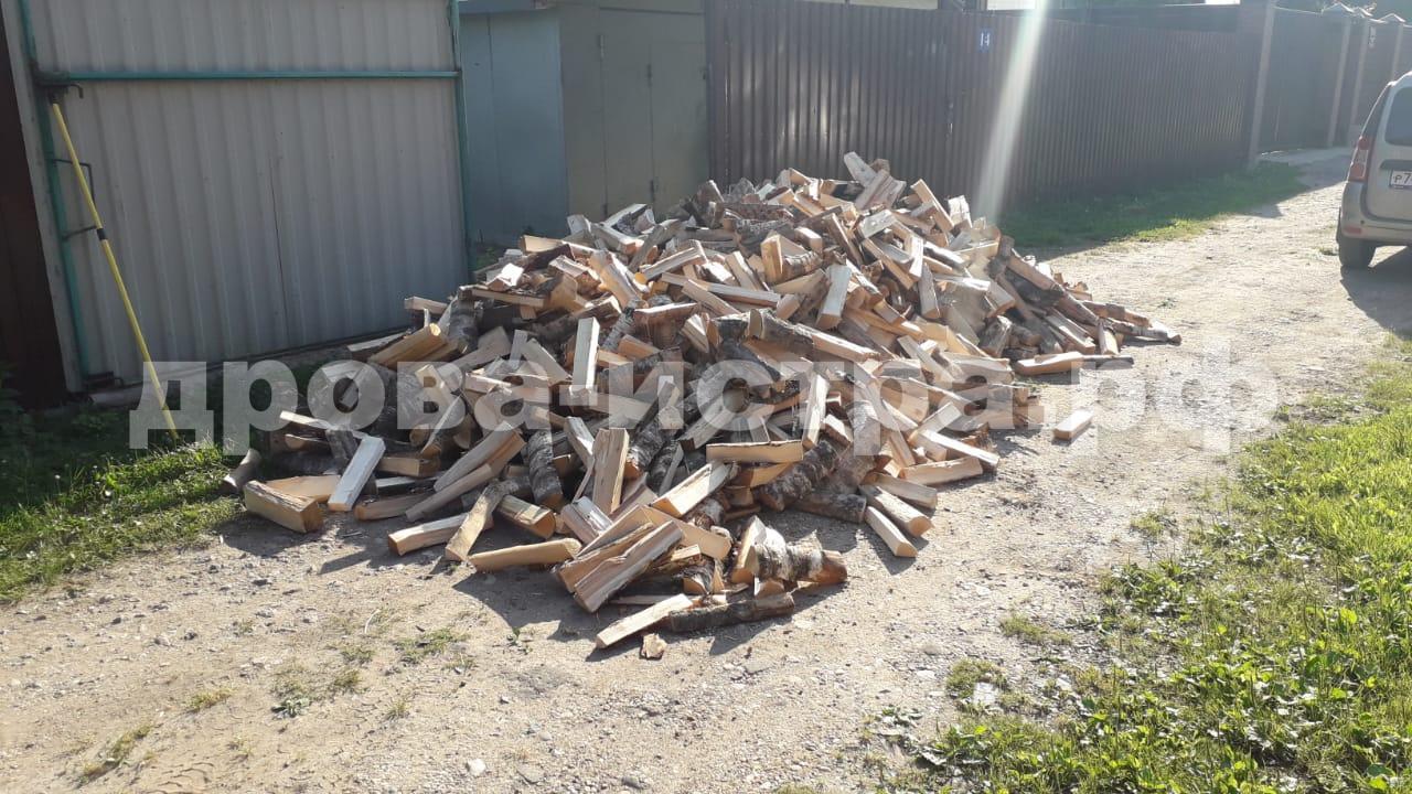 5 м³ берёзовых дров в СНТ Нагорье, г.о. Истра