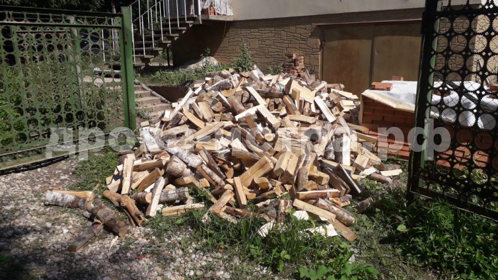 5 м³ берёзовых дров в д. Алексино, г.о. Истра