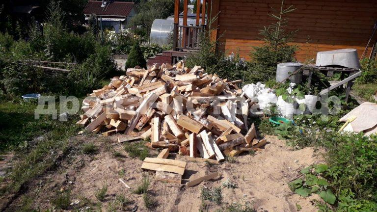 3 м³ берёзовых дров в д. Борзые, г.о. Истра