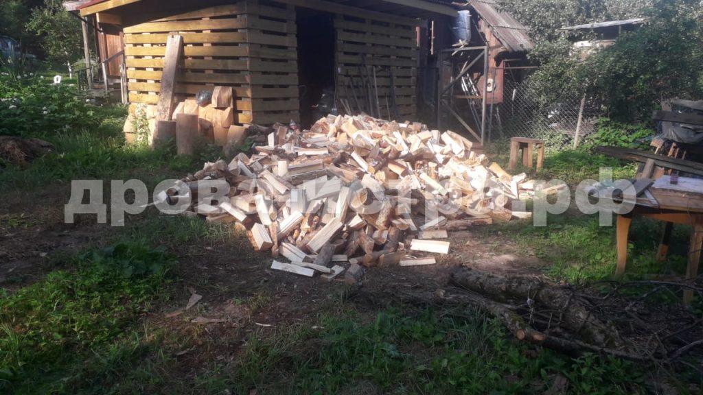 5 м³ берёзовых дров в СНТ Союз, г.о. Истра