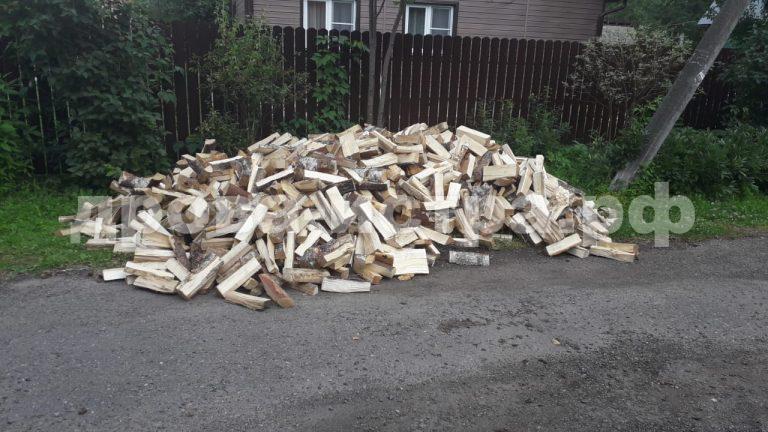 5 м³ берёзовых дров в д. Подпорино, г.о. Истра