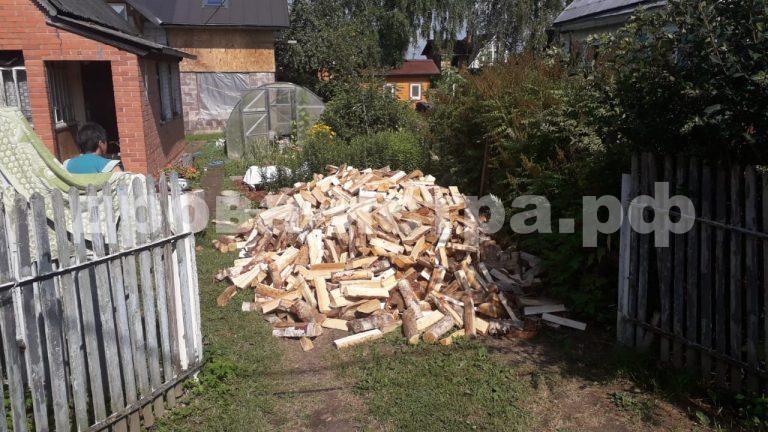 5 м³ берёзовых дров в СНТ Газовик, г.о. Истра