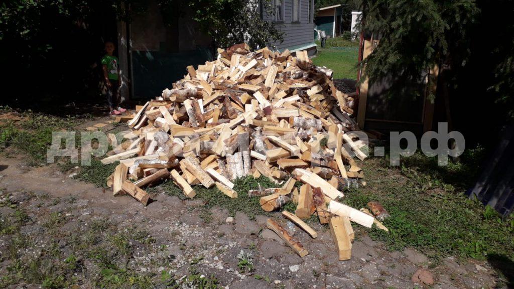 5 м³ берёзовых дров в д. Львово, г.о. Истра