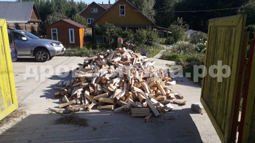 5 м³ берёзовых дров в д. Ябедино, г.о. Истра
