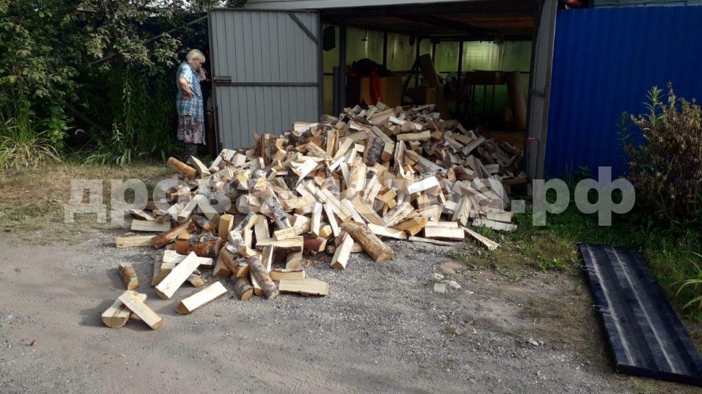 5 м³ берёзовых дров в СНТ Подводник, 2, г.о. Истра