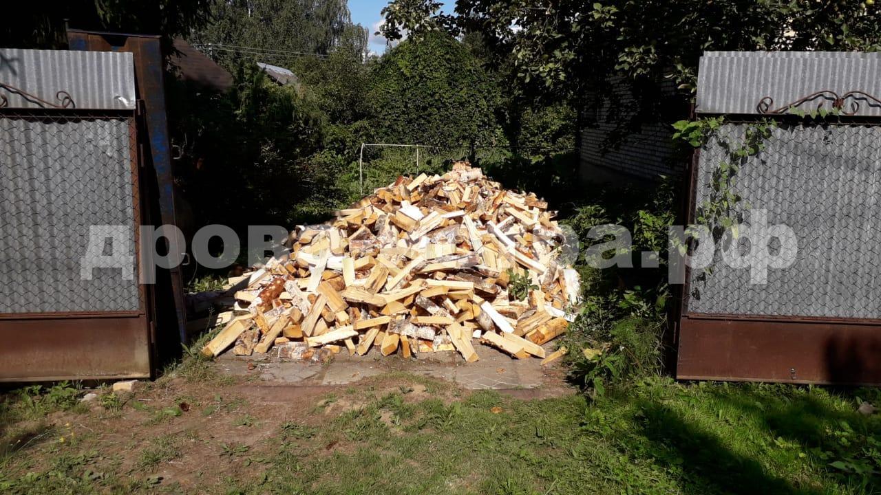 5 м³ берёзовых дров в д. Лукино, г.о. Истра