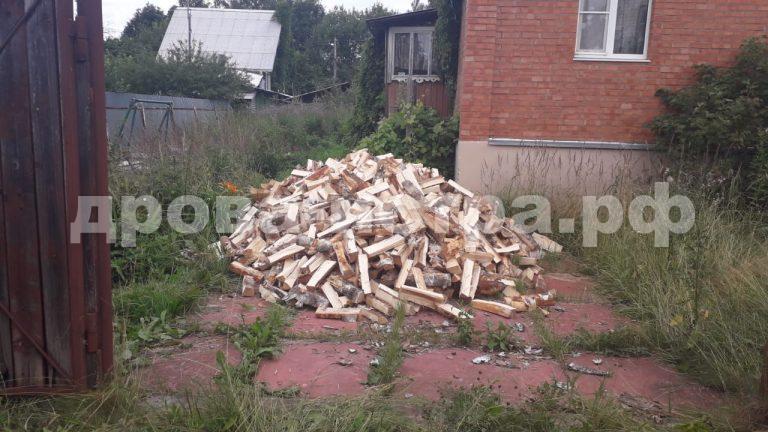 5 м³ берёзовых дров в д. Зеленково, г.о. Истра