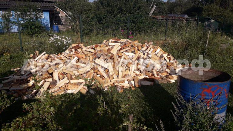 5 м³ берёзовых дров в с. Новопетровское, г.о. Истра