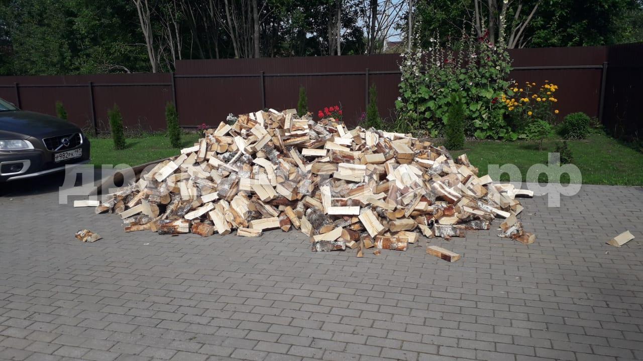 5 м³ берёзовых дров в д. Рождествено, г.о. Истра