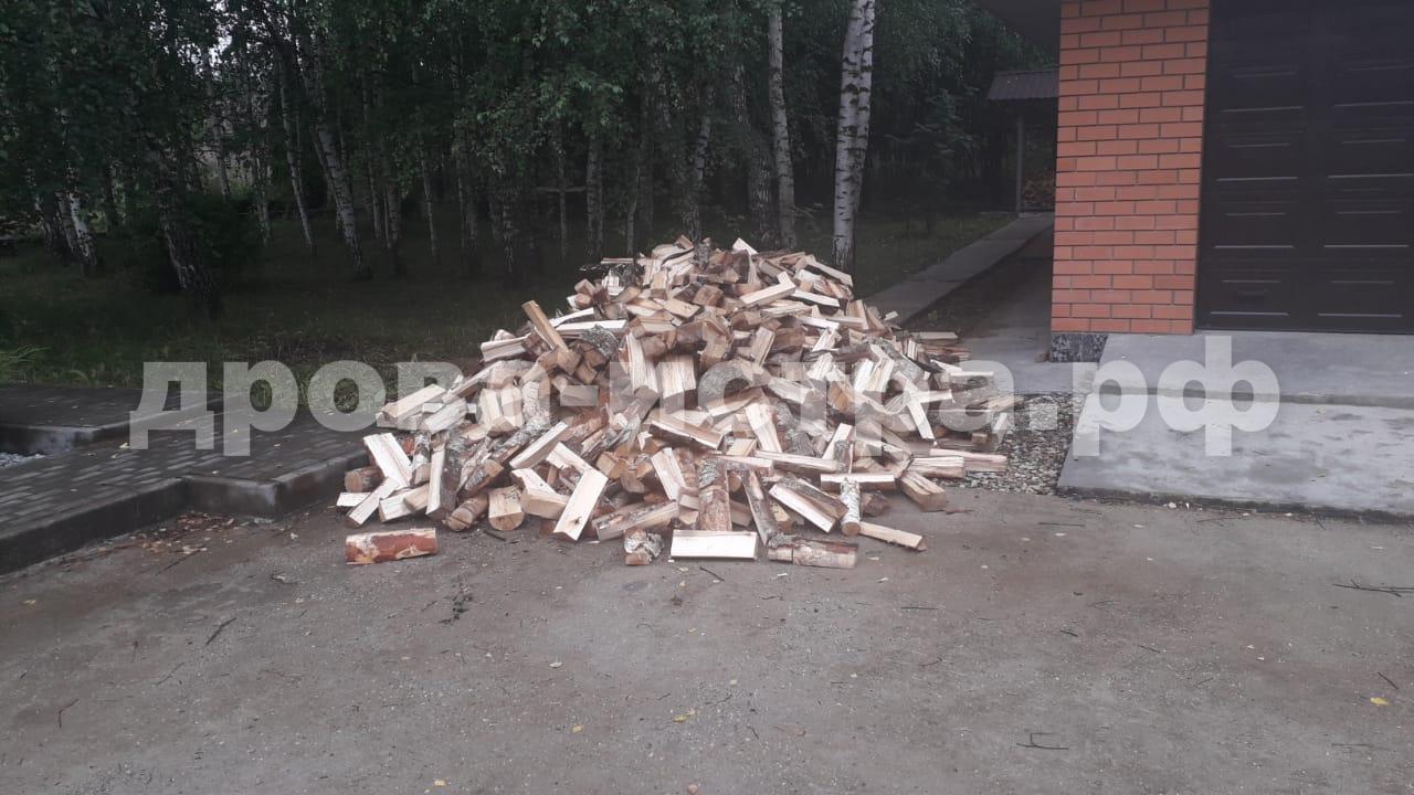 5 м³ берёзовых дров в д. Нижневасильевское, г.о. Истра