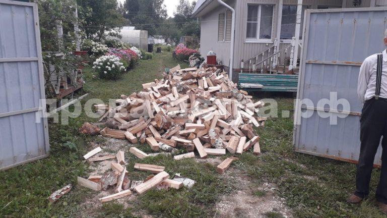 5 м³ берёзовых дров в СНТ Вика, г.о. Истра