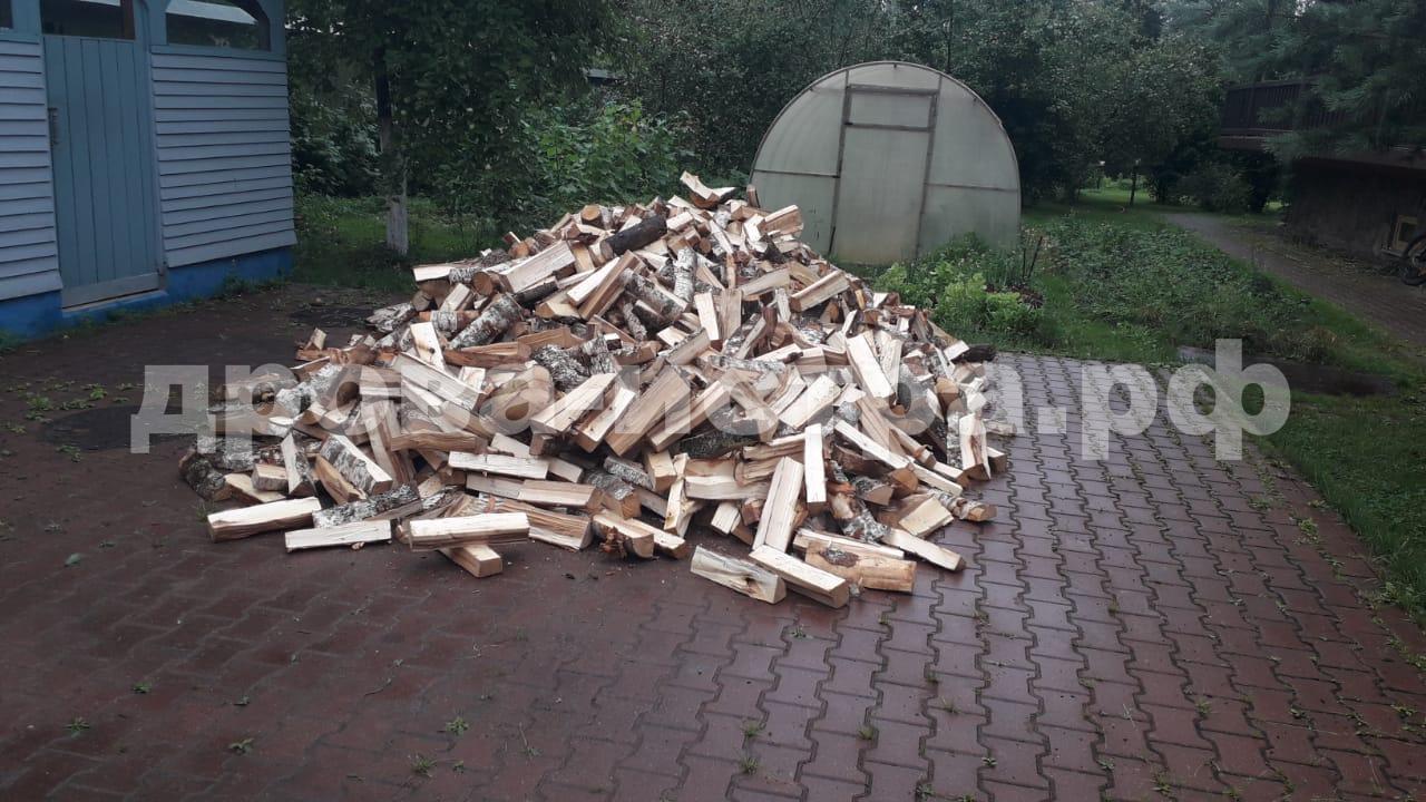 5 м³ берёзовых дров в СНТ Петровское, г.о. Истра
