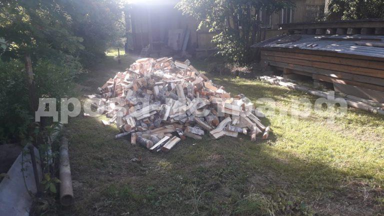 5 м³ берёзовых дров в д. Шапково, г.о. Истра