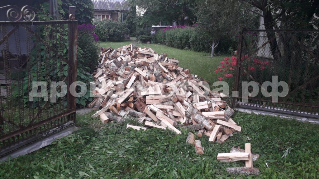 5 м³ берёзовых дров в д. Еремеево, г.о. Истра