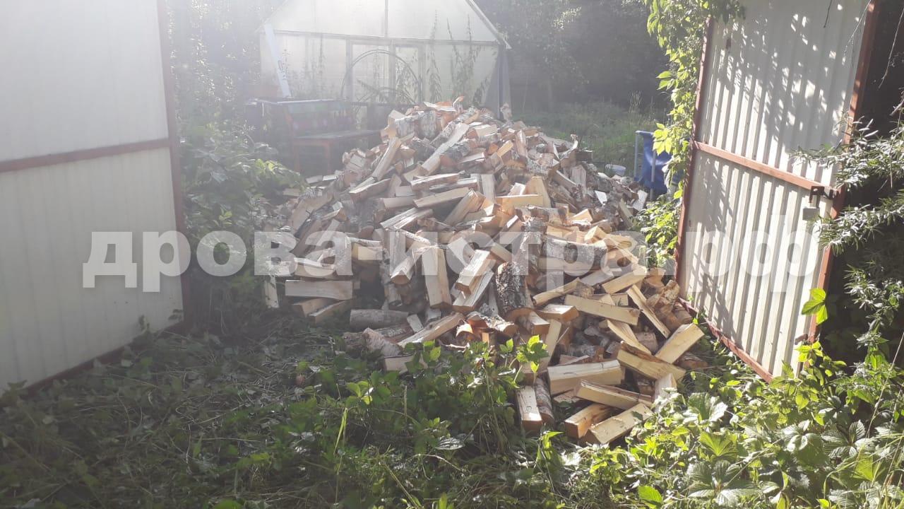 5 м³ берёзовых дров в д. Ламишино, г.о. Истра