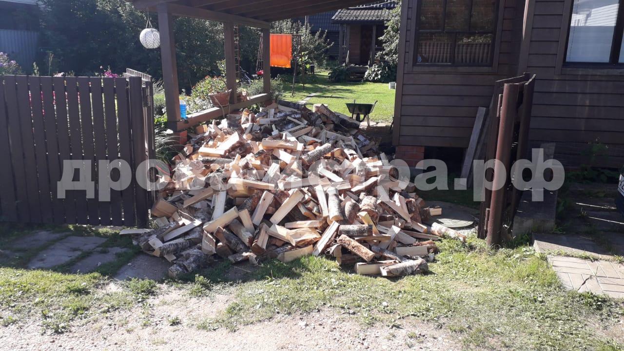 5 м³ берёзовых дров в п. Полевшина, г.о. Истра