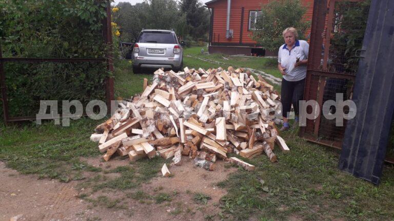 4 м³ берёзовых дров в д. Раково, г.о. Истра