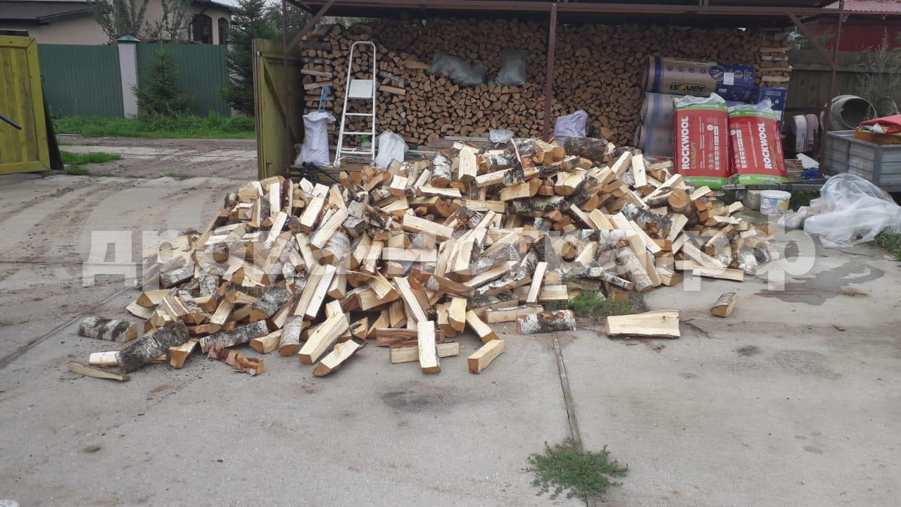 5 м³ берёзовых дров в СНТ Фрунзенец, г.о. Истра