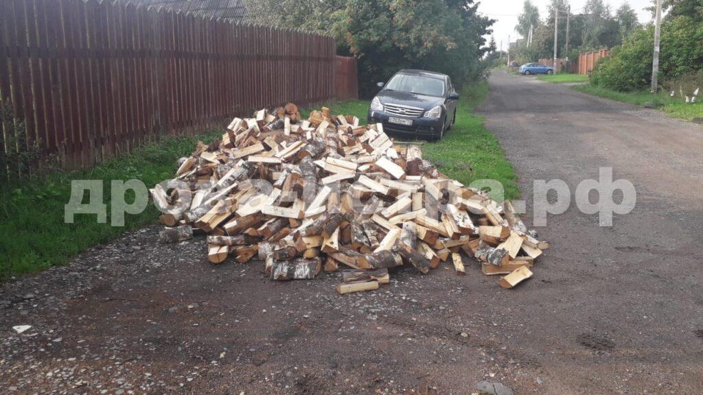 5 м³ берёзовых дров в СНТ Май, г.о. Истра