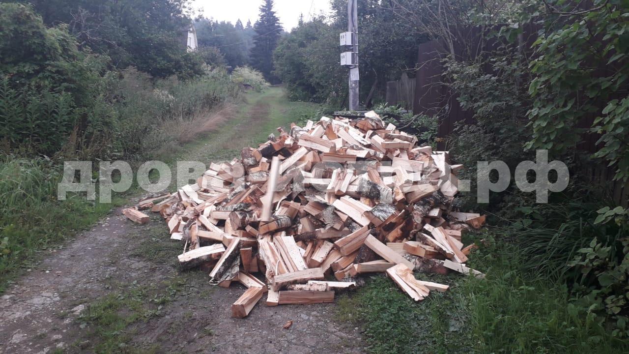 5 м³ берёзовых дров в СНТ Маяк, г.о. Истра