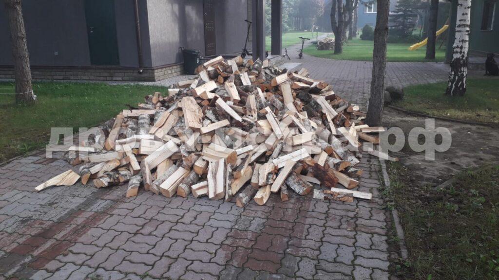 5 м³ берёзовых дров в д. Красновидово, г.о. Истра