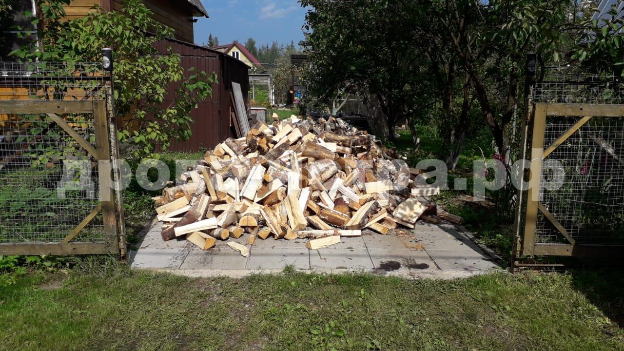 5 м³ берёзовых дров в д. Раково, г.о. Истра